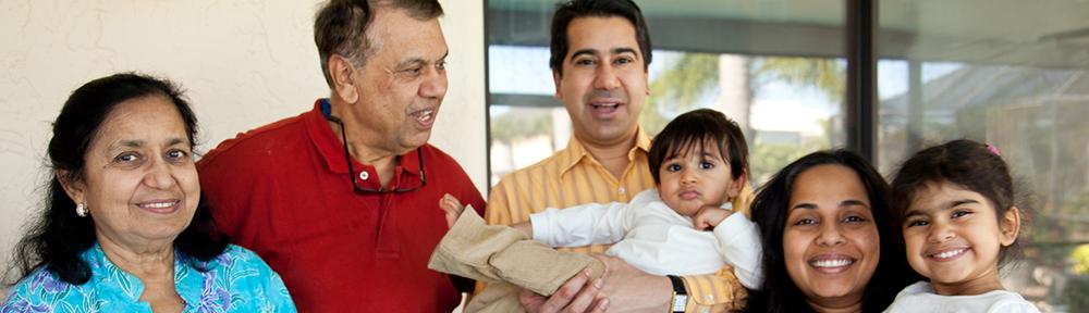 Shah family in 2010, Tortoise Island, FL